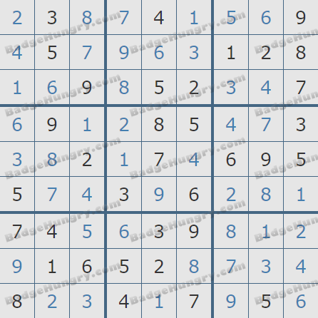 Pogo Daily Sudoku Solutions: January 13, 2020