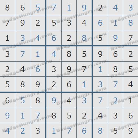 Pogo Daily Sudoku Solutions: January 14, 2020