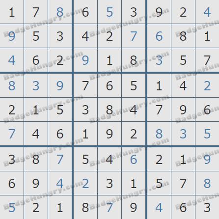 Pogo Daily Sudoku Solutions: January 15, 2020
