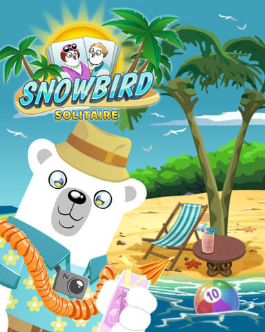 Snowbird Solitaire Mix-n-Match Badge