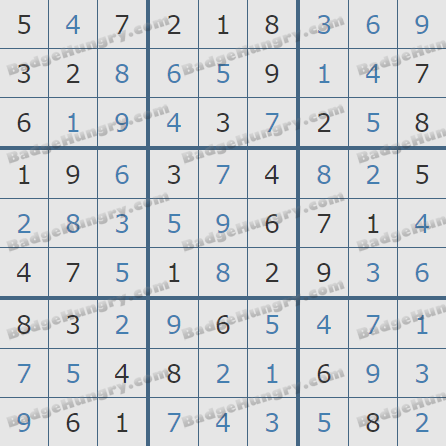 Pogo Daily Sudoku Solutions: January 18, 2020