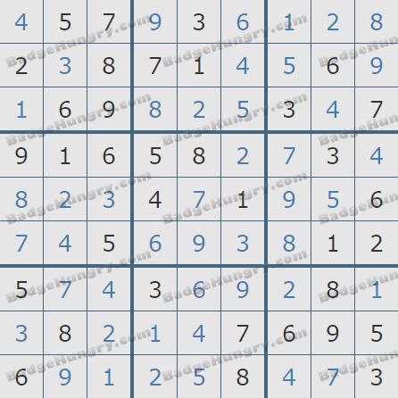 Pogo Daily Sudoku Solutions: January 19, 2020