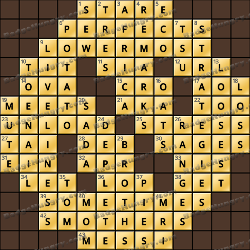 Crossword Cove HD Solution: January 21, 2020