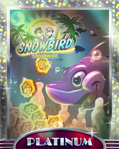 Snowbird Solitaire Platinum Mix-n-Match Badge