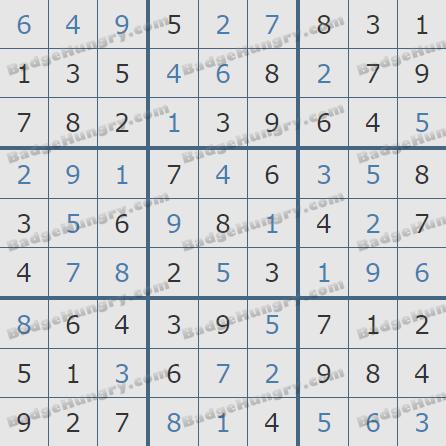 Pogo Daily Sudoku Solutions: January 24, 2020