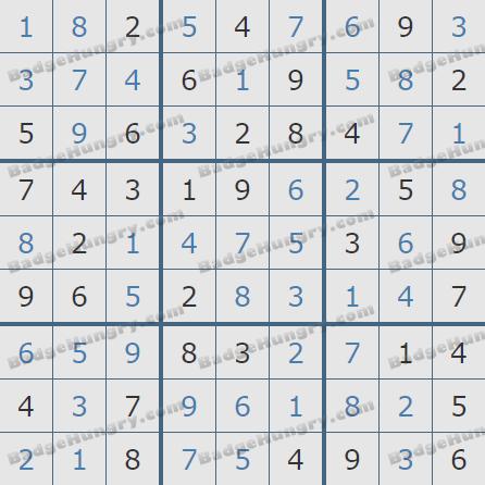 Pogo Daily Sudoku Solutions: January 25, 2020