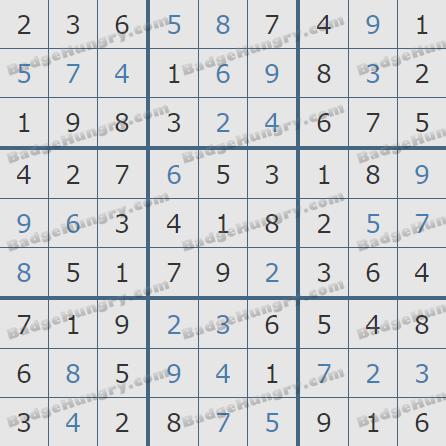 Pogo Daily Sudoku Solutions: January 28, 2020