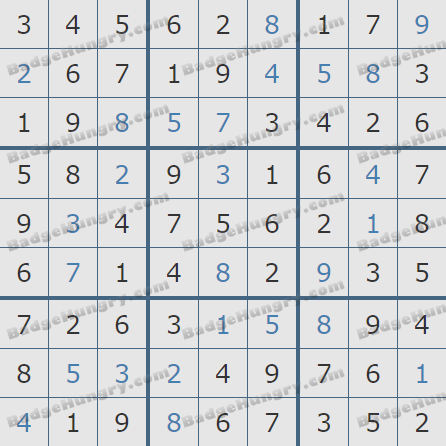 Pogo Daily Sudoku Solutions: January 31, 2020