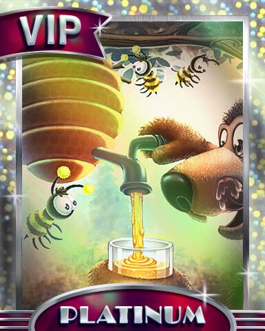 Superstar: Tumble Bees HD Platinum Badge