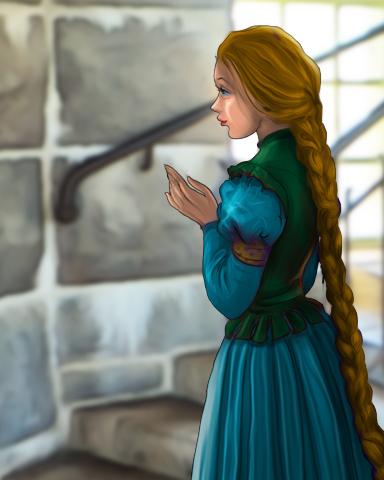 StoryQuest Rapunzel Episode 3 Badge