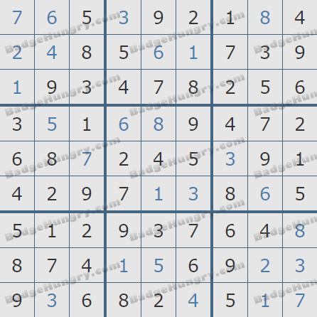 Pogo Daily Sudoku Solutions: February 6, 2020