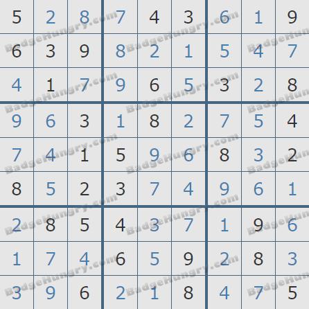 Pogo Daily Sudoku Solutions: February 12, 2020