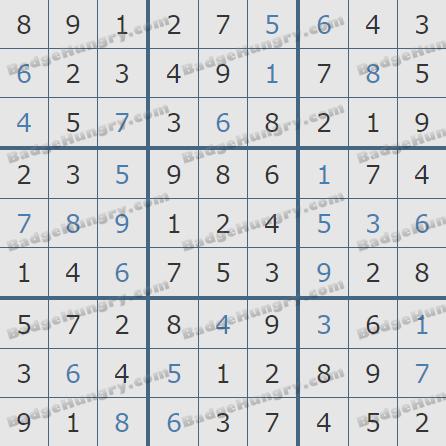 Pogo Daily Sudoku Solutions: February 13, 2020