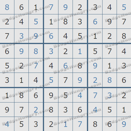 Pogo Daily Sudoku Solutions: February 14, 2020