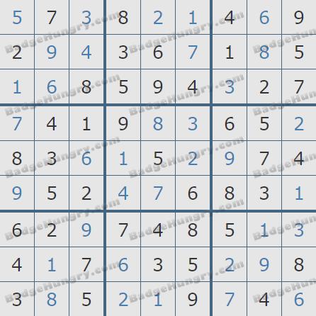 Pogo Daily Sudoku Solutions: February 15, 2020