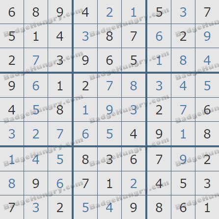 Pogo Daily Sudoku Solutions: February 18, 2020