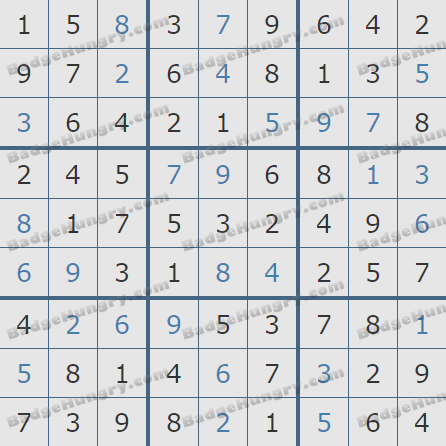 Pogo Daily Sudoku Solutions: February 23, 2020