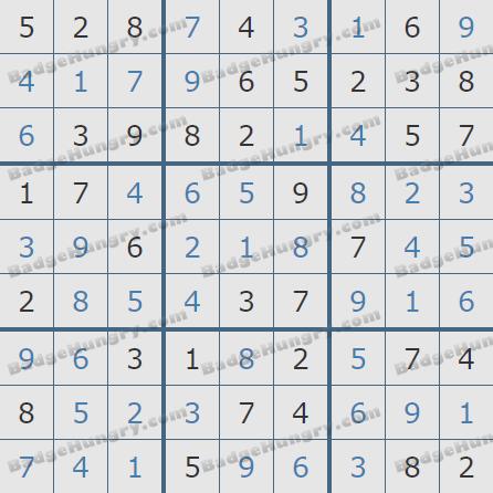 Pogo Daily Sudoku Solutions: February 27, 2020