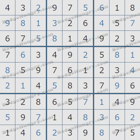 Pogo Daily Sudoku Solutions: February 29, 2020