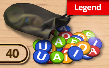 A Way With Words Legendary Challenge Badge