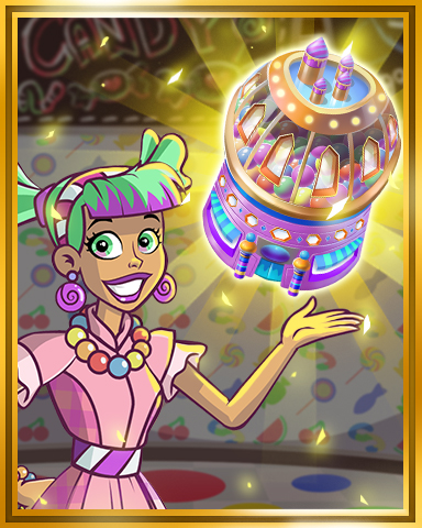 Sweet Tooth Town - Candy Shop to Tier 4 Badge
