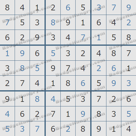 Pogo Daily Sudoku Solutions: March 4, 2020