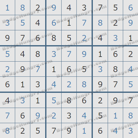 Pogo Daily Sudoku Solutions: March 5, 2020