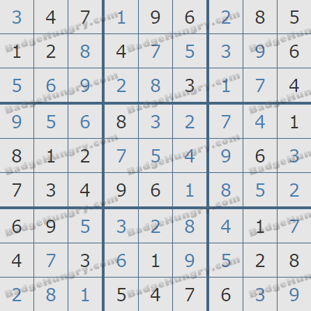 Pogo Daily Sudoku Solutions: March 7, 2020