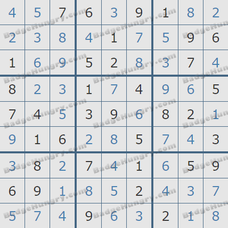 Pogo Daily Sudoku Solutions: March 11, 2020
