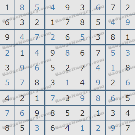 Pogo Daily Sudoku Solutions: March 13, 2020
