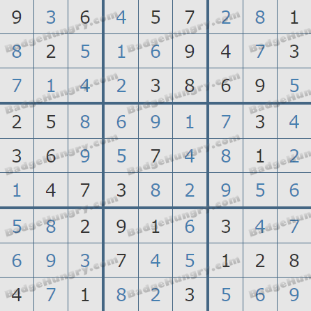 Pogo Daily Sudoku Solutions: March 14, 2020