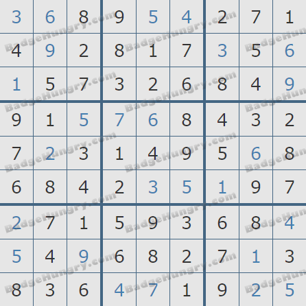 Pogo Daily Sudoku Solutions: March 16, 2020