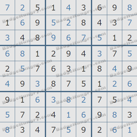 Pogo Daily Sudoku Solutions: March 18, 2020