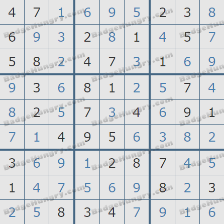 Pogo Daily Sudoku Solutions: March 19, 2020