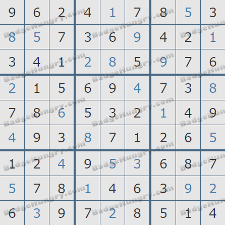 Pogo Daily Sudoku Solutions: March 20, 2020