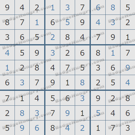 Pogo Daily Sudoku Solutions: March 22, 2020