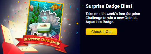 Surprise Badge Challenge Week Four