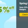 Spring Badge Sale: Mix-n-Match Badges Back from the Vault