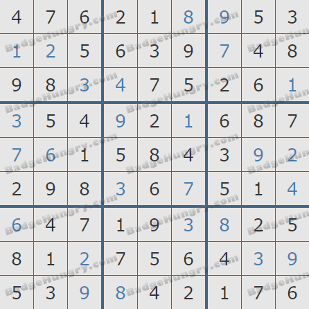 Pogo Daily Sudoku Solutions: March 26, 2020