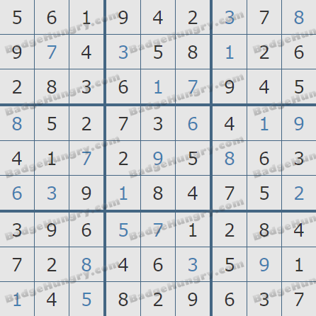 Pogo Daily Sudoku Solutions: March 27, 2020