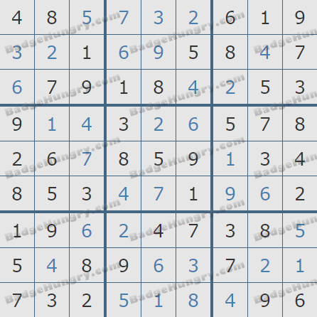 Pogo Daily Sudoku Solutions: March 29, 2020