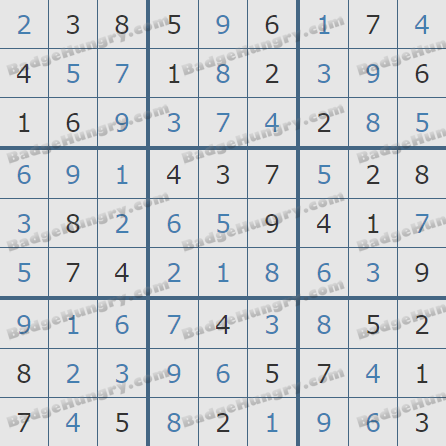Pogo Daily Sudoku Solutions: March 30, 2020