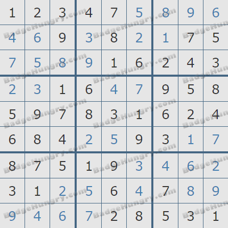 Pogo Daily Sudoku Solutions: March 31, 2020
