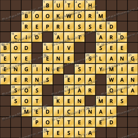 Crossword Cove HD Solution: March 31, 2020