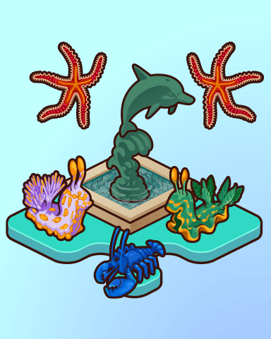 Quinns Aquarium Courtyard Badge