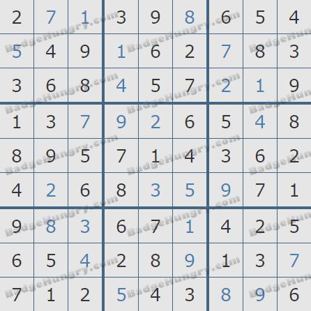 Pogo Daily Sudoku Solutions: April 3, 2020