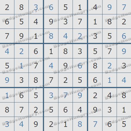 Pogo Daily Sudoku Solutions: April 4, 2020