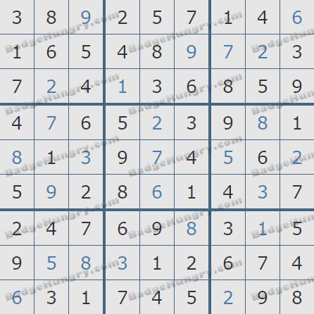 Pogo Daily Sudoku Solutions: April 5, 2020