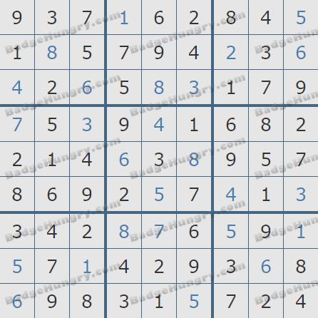 Pogo Daily Sudoku Solutions: April 9, 2020