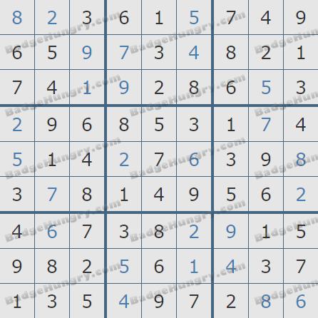 Pogo Daily Sudoku Solutions: April 10, 2020